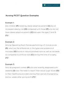 research paper on nursing career