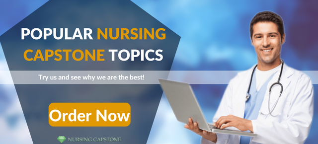 professional nursing capstone project ideas