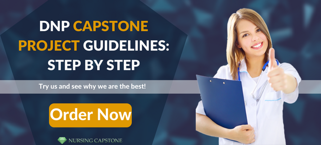 dnp capstone project step by step