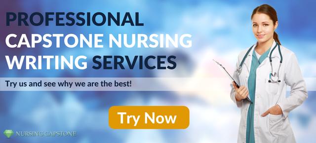 professional capstone nursing writer