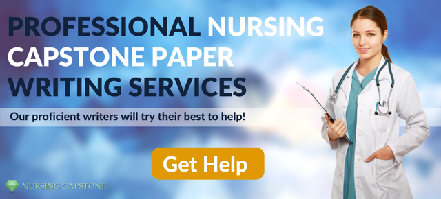 professional nursing capstone writing help