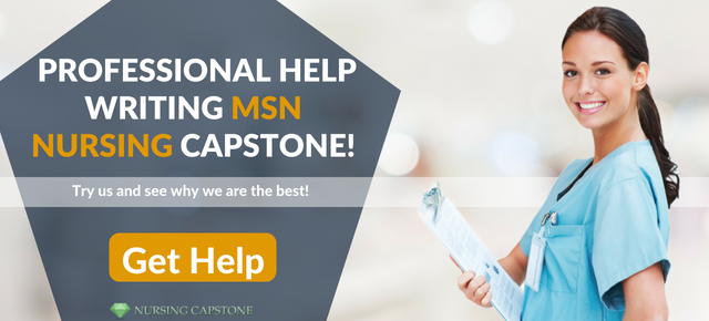 help writing msn nursing capstone
